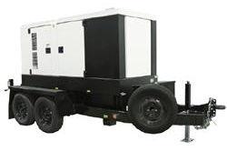 Generador portátil 56 kW / 70 kVA - 120 / 240V - 170 Capacidad de combustible de galón