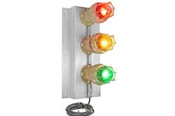 Semáforo a prueba de explosiones 30W - Luz LED de la pila de señales - Protector de cable - ATEX / IECEx