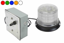 "Class I LED Beacon - 30 Strobing Patterns - Remote Mount Motion Sensor w/ 30"" harness - 12-24V DC"