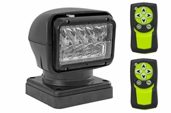 Click to see and buy Golight remote control spotlight with magnetic base