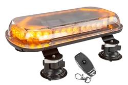 40W madala profiiliga laetav LED strobe valgusriba - imitoru - 4 Hr Runtime - traadita kaugjuhtimispult