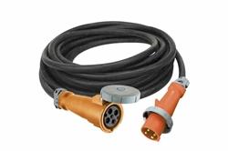 Cable de alimentación 25 '4 / 5 SOOW Type-W resistente a la intemperie - 100 Amps Rated - 120 / 240V - 4P5W Cable Cap