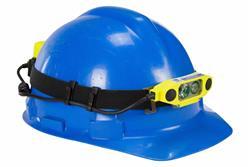 Faros delanteros LED doble intrínsecamente seguros - Cinco modos, faro C1D1 - Rayo puntual / de inundación - IP67