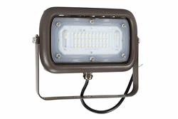 15 Watt LED Flood Light - 1500 Lumens - 120-277V AC - IP66 Rated - Trunnion Mount