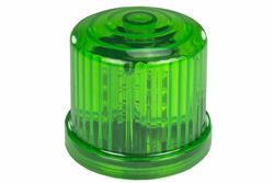 Roheline LED 360 kraadi märgutuli - 20 LEDS - akutoitel - magnetiline alus