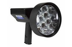 10 Million Candlepower Rechargable LED Light Hunting Spotlight - 36 Watts - Pistol Style -3200 Lumen