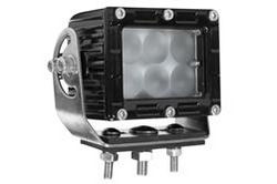 30 Watt LED Work Light Bar - Aluminum Housing - IP67 - Trunnion Mount Bracket - 9-64V DC - 120º Beam