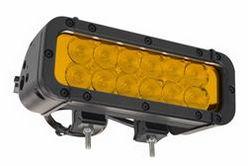 120 Watt suure intensiivsusega LED-valgusriba - 12, 10W LED-id - mitmed valgusvärvid - äärmuslik keskkond
