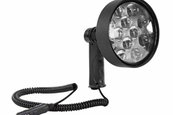100W Handheld Halogen Spotlight - Momentary Switch - Spot/Flood Combo- 12VDC - 7 Million Candlepower