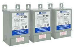 3-Phase Wye Buck/Boost Step-Down Transformer - 242Y/140V Primary - 220Y/127V Secondary - 34.4 Amps