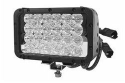 Infrared LED Light Bar - 24 LEDs - 72 Watts - Spot/Flood Beam Combonation - Separate Circuits