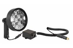 10 Million Candlepower LED Spotlight w / Dimmer Switch - 36 Watt - مسدس مقابض - 1600 Foot Beam