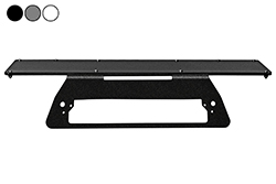 "2014 Chevrolet Silverado 1500 No-Drill Rooftop Mounting Bracket - 24"" x 8"" 3rd Brake Light Magnetic Plate"