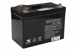 100aH Sealed Lead Acid Rechargeable Battery - AGM Technology - 12V Nominal - Top Post Terminals