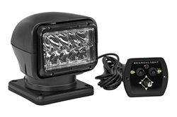 35W HID Golight Stryker w/ Wired Dash Remote - Black - 3000 Lumens - 5000' Beam - 24V - GL-30211