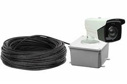 1080p Outdoor Security Camera - Day/Night IR - 120/240V - 1,200' Cord - Stranded Wire - Weatherproof