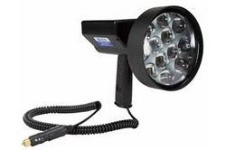 10 Mil Candlepower 36W Rechargeable LED Hunting Spotlight - 3200 Lumen - Charges While Plugged In