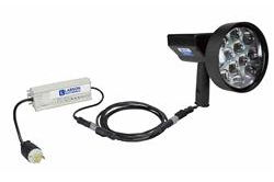 10 Million CP Rechargeable LED Light Hunting Spotlight - 36W - 120/277V - Pistol Style - 3200 Lumens