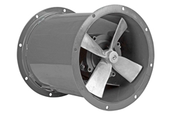"""12 """"Ventilador axial de accionamiento directo a prueba de explosiones - RPM del ventilador 3450 - 1 / 2 HP - 115 / 230V 1PH - Velocidad única"""