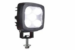 Proyector LED blanco compacto 25W - 2250 Lumens - 9-60V DC - Luces ignífugas para montacargas tipo alimenticio