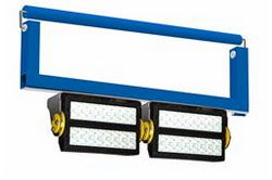 640W High Intensity LED Crane Light - 58,892 lms - Soft Start LEDs - Free Swinging U-bracket Mount