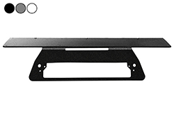 2017-2018 Chevrolet Silverado 1500, 1500HD, 2500HD, 3500HD Permanent, No-Drill Mounting Plate