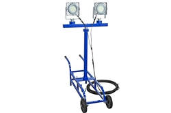 100W EXP LED Light - 12,500 Lm - Cart Mount - Quick Change Mount - C1D1 - 100' 16/3 SOOW - GEN Plug