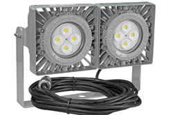 100W Explosion Proof LED Flood Light Fixture - C1D2, C2D1/C2D2 - Serviceable Junction Box