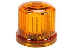 Amber LED 360 kraadi indikaatortuli - 20 LEDid - akutoitel - magnetiline alus - püsiv põletamine