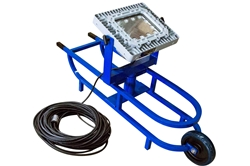 150W Explosion Proof LED Tank Light w/ Removable Light Head - 17,500 Lm - C1&2D1&2 - Manhole Cart
