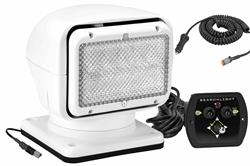 Golight Radioray Control remoto portátil / luz de inundación con control remoto alámbrico y cigarrillo Plu