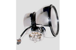 ACRO LIGHTS - X930-W HID Off Road Light - Chrome - 6 inch round - Internal Ballast - flood pattern