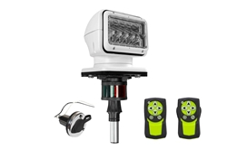 Golight Stryker Boat Light GL-3100-S-6-E Wireless Remote Light with Stanchion Post & Running Lights