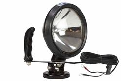 12 million candlepower spotlight with 200 lb magnetic base w/ battery ring terminals- HML-4-200lb-RT