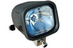 Refletor para equipamento 35 watt HID - 4 inch square - 3200 lumens -12 / 24 VDC - SPOT BEAM