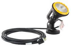 120 Volt Light Magnetic Mount - Polyurethane - 25 foot 6/3 Cord - Blasting Light - Decontamination