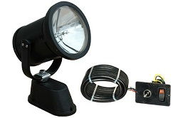 Remote Control Spotlight / Flood Light with Dash Mount Controller - Mining, Oilfield Construction