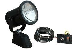 Uzaktan Kumanda Halojen Spot Işığı / Sel Işığı - 360,000 Candlepower - Alçak Gerilim - Kablolu