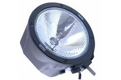 12 / 24 Volt HID light - 50 Watt HID - Carcasa de fibra de carbono - 4500 Lumens - Modified Spot Pattern