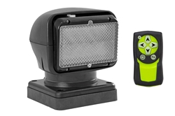 HID Golight Stryker - 35 Watts - 3000 Lumen - Handheld Wireless Remote - Black - Magnetic Base