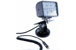 Ayarlanabilir Kilitleme Manyetik Tabanlı 24 LED Verici Işık - 4320 Lümen - 72 Watts- 9-42V