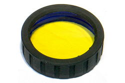 Powerlight PL-Amber-lens for Powerlight HID Flashlights