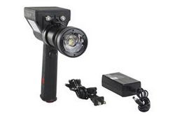LED Light - 10 Watt - Rechargeable L-ion - Pistol Style - 800 Lumens - 800' X 175' Beam