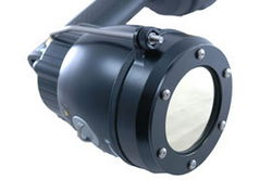 Covert Infrared Lens and Adapter for Acro Light HID Flashlight - LENS ONLY