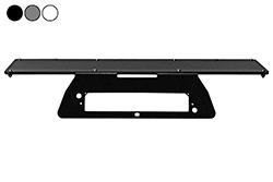 """2009 Ford F150 sem placa de montagem de broca - 3rd LED de luz de travão alta montagem - placa magnética - 24 """"x 8"""""""