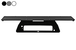 "2013 Ford F150 No Drill Mounting Plate - 3rd LED Brake Light High Mount - Magnetic Plate - 24"" x 8"""