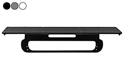 "2013 Chevrolet Silverado 1500 No-Drill Rooftop Mounting Bracket - 24"" x 8"" 3rd Brake Light Magnetic Plate"