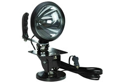 100W Sealed Beam HIR Spotlight - Adjustable Locking Magnetic Base- 12 Million Candlepower- 750' Beam