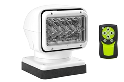20004-CT-M Golight Remote - 36W LED Spotlight - Clear Top - 900'L X 70'W Beam - 200lb Magnet