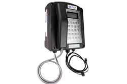 Hazardous Location Analog Phone - C1D2, ATEX/IECEx Rated - LCD Display - Wall Mount - IP66